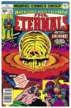 Eternals comic #12 exists as a 35c price variant. RARE! Click for more info