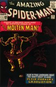 Amazing Spider-Man28: 1st Molten Man. Click for more