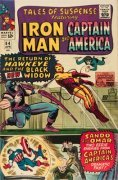 Other Marvel Comic Superheroes in Captain America Comic