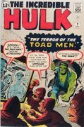 Value of Incredible Hulk comic books