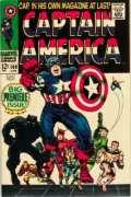 Value of Captain America Silver Age Comic Books