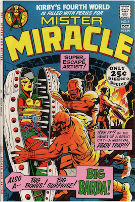 Mister Miracle Comic Values