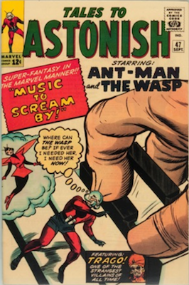 Ant-Man in Tales to Astonish Comic Book Prices