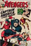 Captain America Silver Age Comic Values