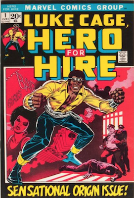 Luke Cage, Hero For Hire #1 is Hot