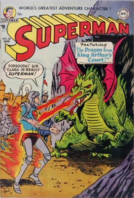 DC Comics Characters in Superman Comic Books
