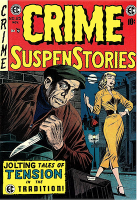 Crime SuspenStories Comic Values