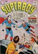 Superboy #68: 1st Bizarro is a Hot Comic