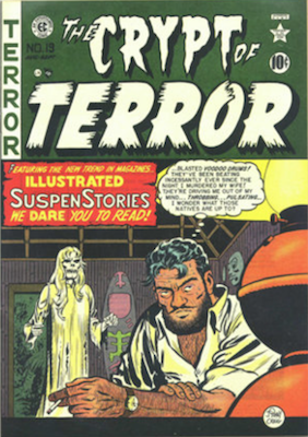 Crypt of Terror (becomes Tales from the Crypt) Comics