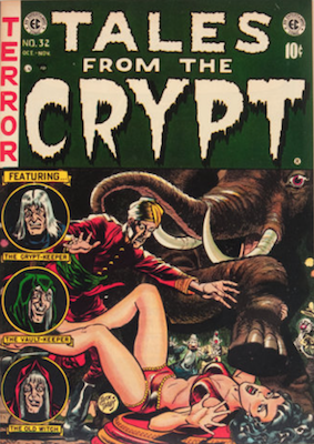Crypt of Terror 17-19 and Tales from the Crypt 20 and Up