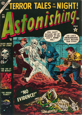 Astonishing Precode Horror Comics