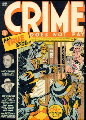 Crime Does Not Pay Comic Values