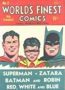 Batman in Superman Comic Books