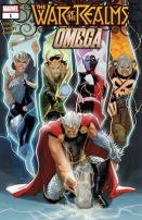 War of the Realms: Omega #1: Jane Foster's first appearance as Valkrye. Click to buy