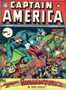 Golden Age Captain America Comics values