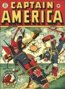 Learn the value of vintage Captain America comics