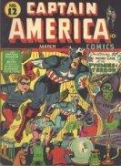 Captain America Comics Value
