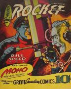 Canadian Whites: rare WWII era comic books
