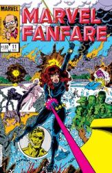 Melina von Vostokoff, aka Iron Maiden. Her first appearance is in Marvel Fanfare #11. Click to buy