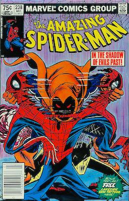 Amazing Spider-Man238 Canadian price variant