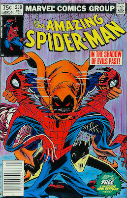 Amazing Spider-Man 238 Canadian price variant