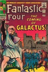 FF #48: 1st Silver Surfer and Galactus. Click to buy