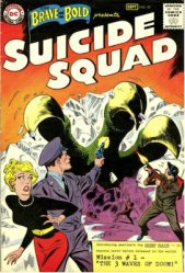 Original Suicide Squad in the Brave and the Bold #25 debut