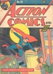 Action Comics #23 is a rare comic book featuring a Superman cover