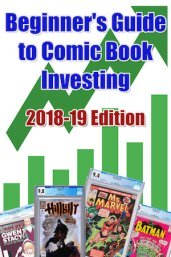 Save $20 On Our Comic Book Investment for Beginners eBook