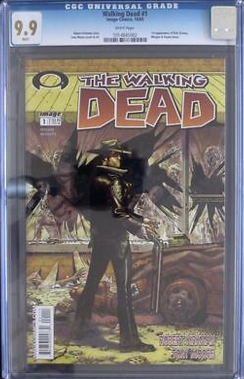 WD #1 in CGC 9.9 is way over-priced. It's not worth the premium. Click if you are mad enough to want to buy one...