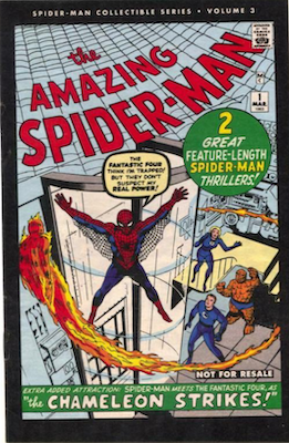 Amazing Spider-Man 1 Collectible Series edition has a black border around the cover edge, and is of limited value
