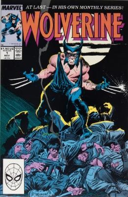 modern age comics: Wolverine 1988 #1
