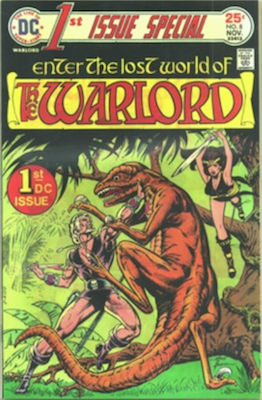 1st Issue Special #8, 1st Warlord by Mike Grell. Click for values