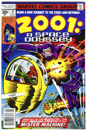 2001: A Space Odyssey #9 35c Price Variant