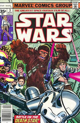Star Wars #3 1977 35c Price Variant