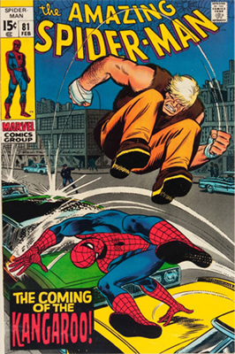 Click to check values for Amazing Spider-Man Issues #81-#100