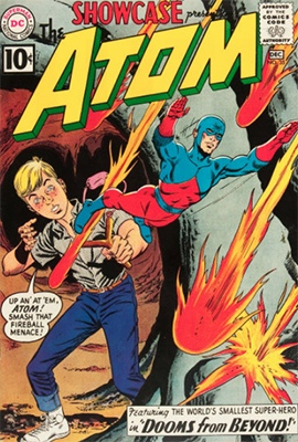 Showcase #35, second Silver Age appearance of The Atom. Click for values