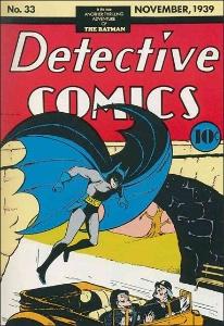 Detective Comics #33 (1939), rare Batman comic
