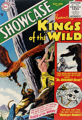 Showcase Comic #2: Kings of the Wild. Click for values
