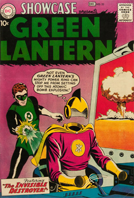 Showcase #23 (1959): Second Appearance of Silver Age Green Lantern (Hal Jordan). Click for values