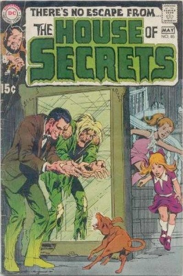 Click to see the value of the Neal Adams cover-art for House of Secrets #85