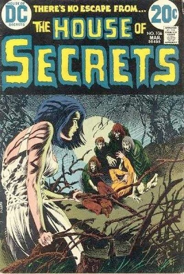 Click to see the value of the Bernie Wrightson cover-art for House of Secrets #106
