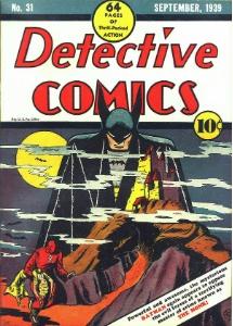 Detective Comics #31 (1939), rare Batman comic
