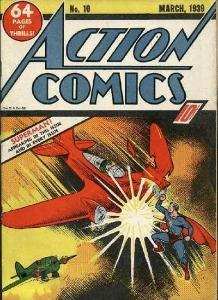 Action Comics #10 (1939) third superman cover