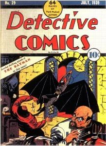 Detective Comics #29 (1939), second Batman cover
