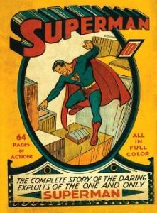 Superman #1 (1940), key Golden Age rare comic book