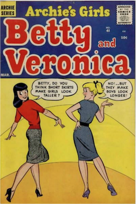 Archie's Girls Betty and Veronica #41. Click for current values.