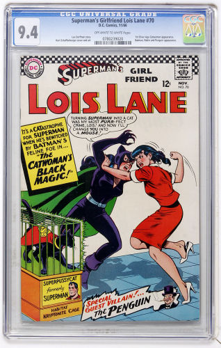 Superman's Girlfriend Lois Lane #70 is an affordable Silver Age key that should be bought in high grade, such as CGC 9.4. Click to buy yours