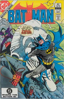 Batman Comics #353, Joker cover story