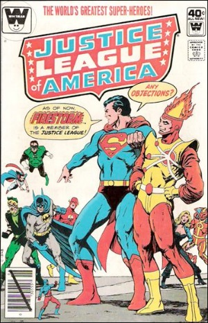 Justice League of America #179: Firestorm joins the JLA